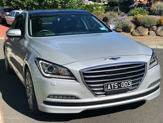 2017 Silver Genesis G80 from A Touch of Silver