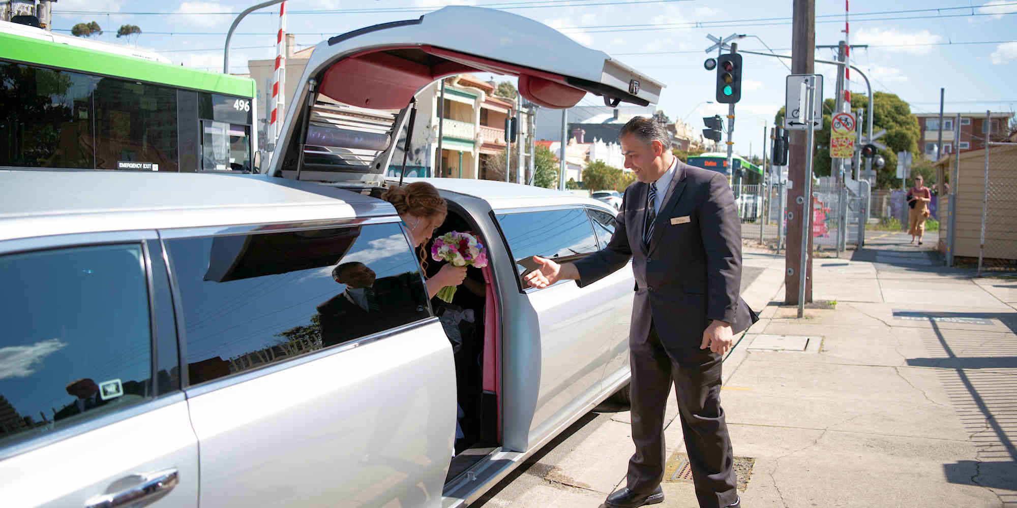 When to Have a Wedding Limo