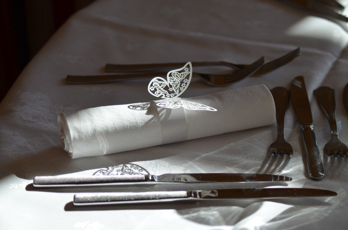 Silver Wedding Decor