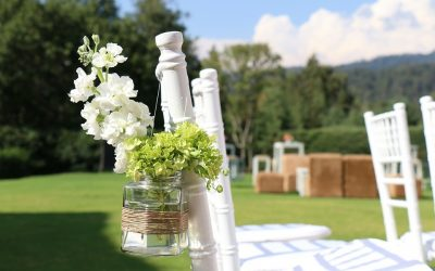 Garden Wedding Style, A Breath of Fresh Air