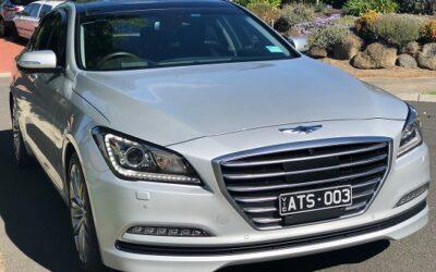 2017 Silver Genesis G80